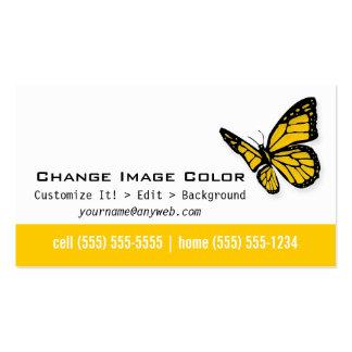 Mariposa - tarjeta de visita personal
