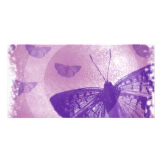 mariposa tarjeta fotografica personalizada