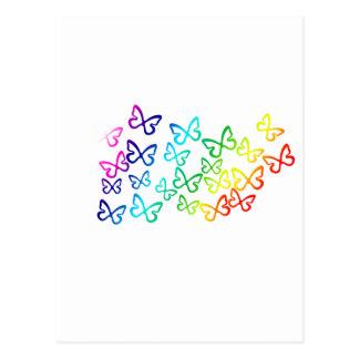 mariposa tarjeta postal
