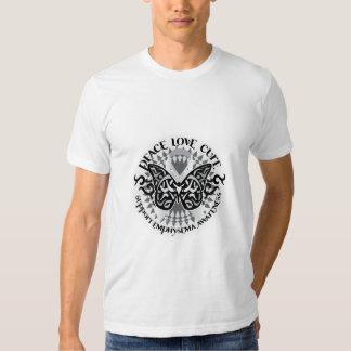 Mariposa tribal del enfisema polera