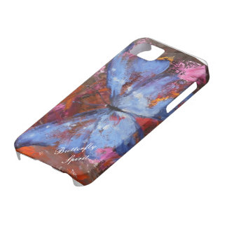 Mariposa universal del caso de Iphone 5 Barely The iPhone 5 Case-Mate Cárcasa