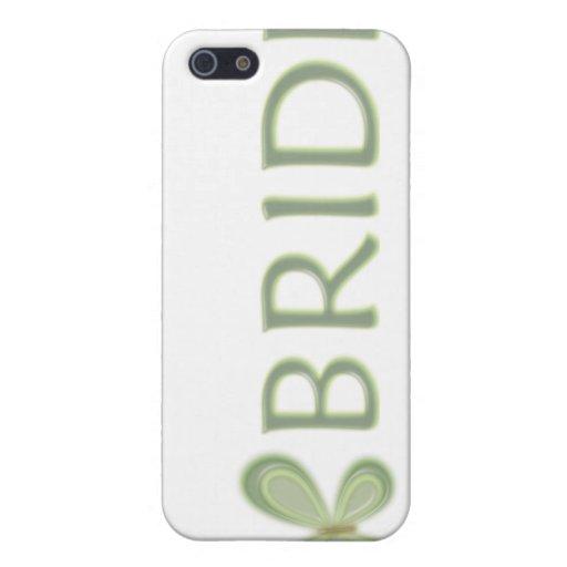 Mariposa verde iPhone 5 fundas