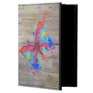 Mariposa vibrante linda fresca del vintage de los