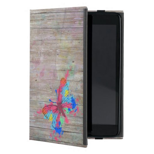 Mariposa vibrante linda fresca del vintage de los  iPad mini carcasas