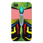 MARIPOSA - VIVE EL AMOR DE LA RISA iPhone 4/4S CARCASAS
