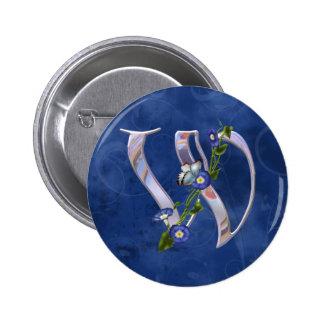 Mariposa W inicial Pin