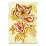 Mariposa y flores del vintage iPad mini carcasas