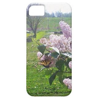 Mariposa y lilas iPhone 5 fundas