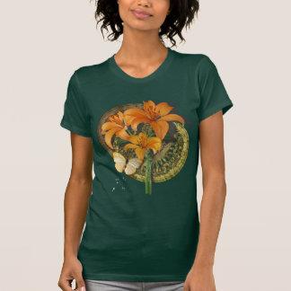 Mariposa y Lillies Camisas