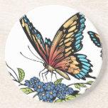 Mariposa y mariposas a todo color por el Al Río Posavasos Personalizados