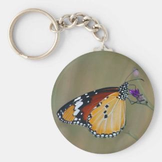 Mariposa y néctar hermosos de los lifes llavero