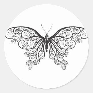 Mariposas abstractas pegatinas