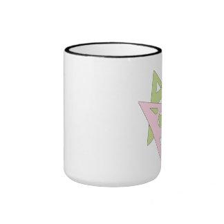 mariposas abstractas tazas de café
