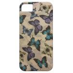 Mariposas azules iPhone 5 Case-Mate protector