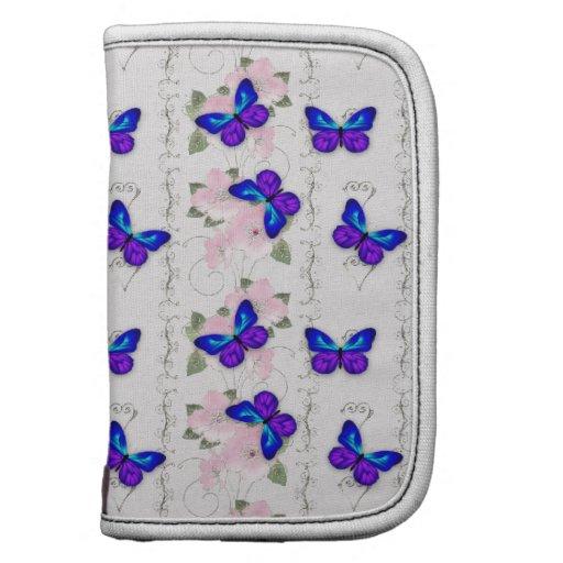 Mariposas azules planificadores