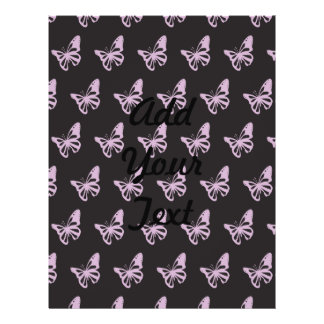 Mariposas black.ai púrpura flyer a todo color