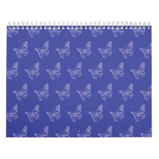 Mariposas blues.ai calendario de pared