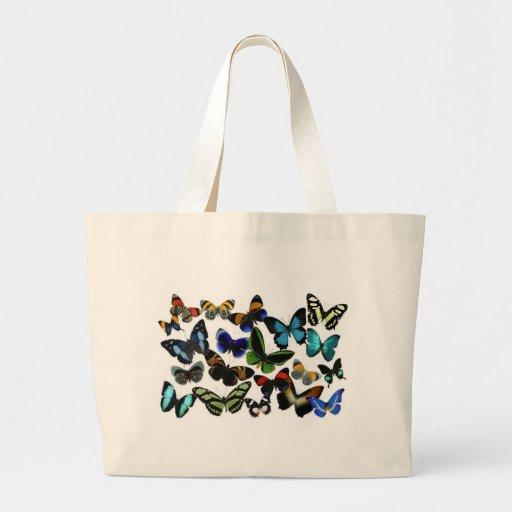 Mariposas Bolsa Tela Grande