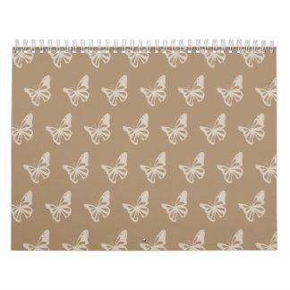 Mariposas browns.ai calendarios
