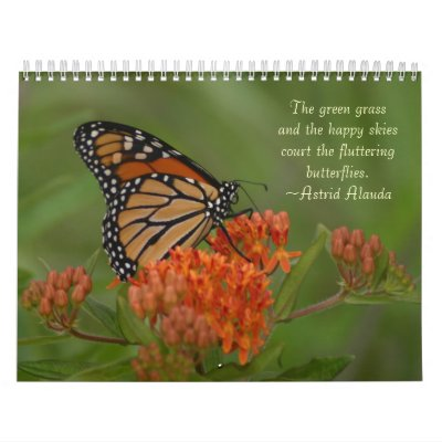 Mariposas Calendario
