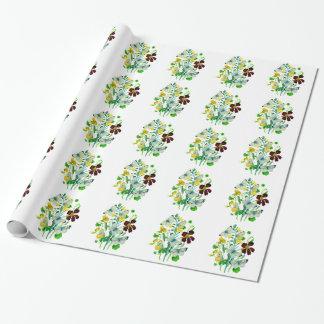 Mariposas, capuchinas y WIldflowers blancos
