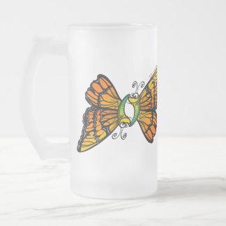 Mariposas cariñosas taza