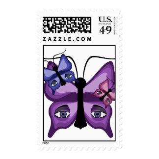 Mariposas coloridas del vigilante envio