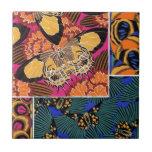 Mariposas con clase azulejos