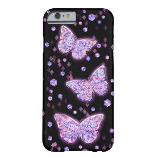 Mariposas cristalinas funda de iPhone 6 barely there