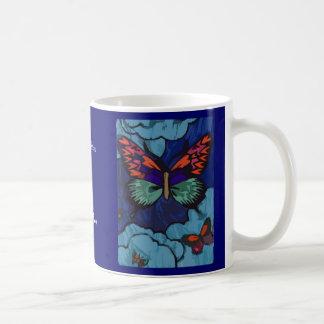 Mariposas de A Shea Tazas De Café