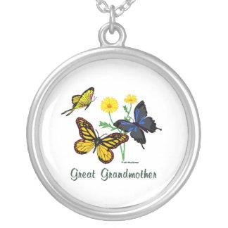 Mariposas de la bisabuela pendientes