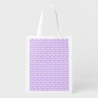 Mariposas de la conciencia en púrpura de la lila bolsa para la compra
