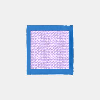 Mariposas de la conciencia en púrpura de la lila bolsa reutilizable