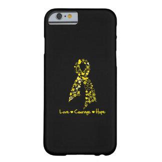 Mariposas de la esperanza del valor del amor de la funda de iPhone 6 barely there