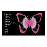 Mariposas de la joya tarjetas de visita