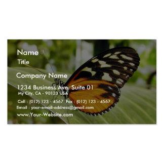 Mariposas de la mariposa tarjetas de negocios