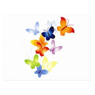 Mariposas de la mariposa postal