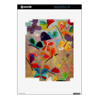 Mariposas de la piel calcomanía para el iPad 2