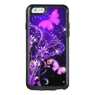 Mariposas de la púrpura de los pares funda otterbox para iPhone 6/6s
