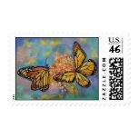 Mariposas de monarca franqueo