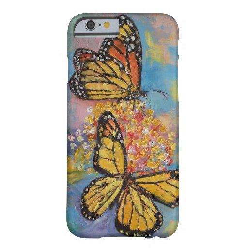 Mariposas de monarca funda barely there iPhone 6