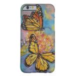 Mariposas de monarca funda para iPhone 6 barely there