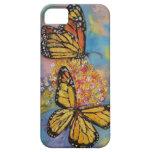 Mariposas de monarca iPhone 5 fundas