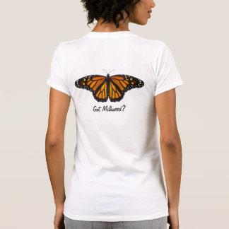 ¿Mariposas de monarca - migración - Milkweed Playera