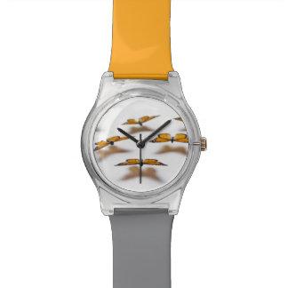 Mariposas de monarca reloj