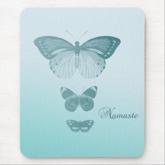 Mariposas de Namaste Mousepad