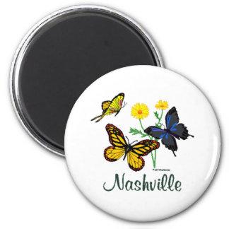 Mariposas de Nashville Iman Para Frigorífico