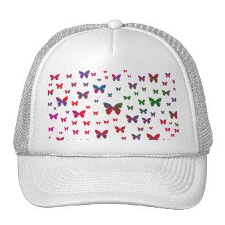 Mariposas de neón gorros