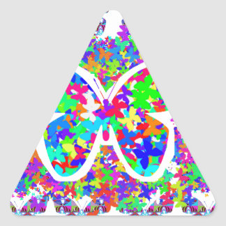 Mariposas del amor de los NIÑOS: REGALOS DE VUELTA Colcomanias Triangulo Personalizadas