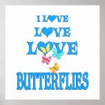 Mariposas del amor del amor posters